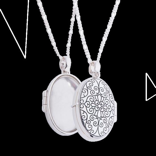uiterst stijlvol gekke prijs heet product Trèsor Ketting met medaillon hanger (3 stijlen)