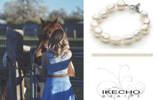 Ikecho paarden sieraden