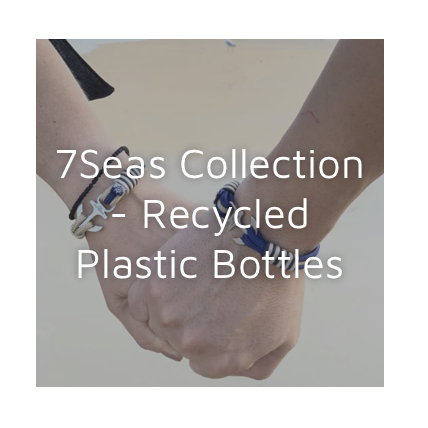 7seas collectie van recycled bottles iFm Heemstede