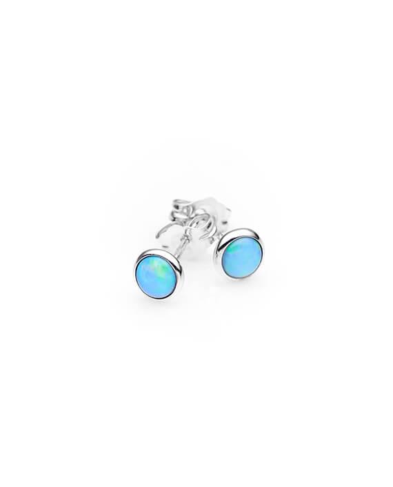 ifmheemstede opaal knopjes oorbellen OE002SS