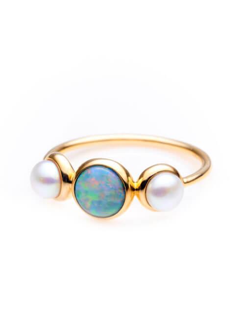 ifmheemstede opaal ring