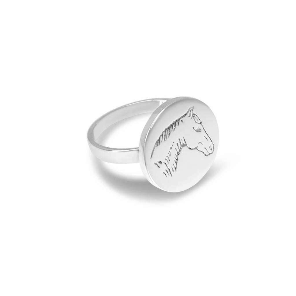 IFMHEEMSTEDE PONY RING sterling zilver